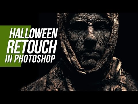 Complete Halloween Retouching In Photoshop