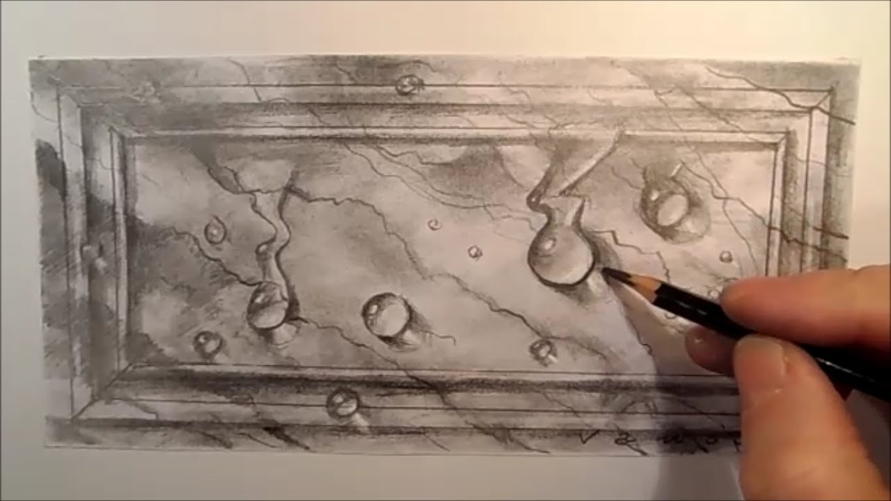 Drawing Water drops on...