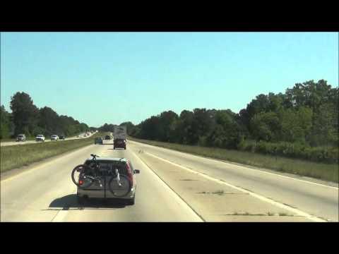South Carolina - Interstate 95 North - Mile Marker 0-10 (4/12/12)