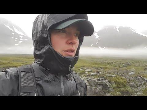 Trail running Kungsleden - Vakkotavaara to Nikkaluokta