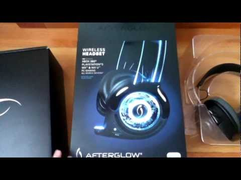PDP Afterglow Headset Unboxing. Review & Setup (Wii U. Wii. Xbox 360. PS3. PC Headset)