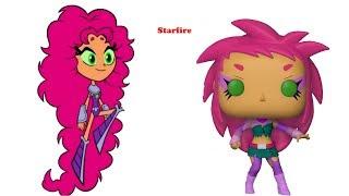 Teen Titans Go As Funko POP | Funko POP Teen Titans Go | Cartoon Vs POP Funko