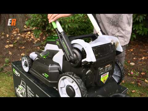 Lawnmower of the Future - EGO 56V Battery Powered Lawnmower Review