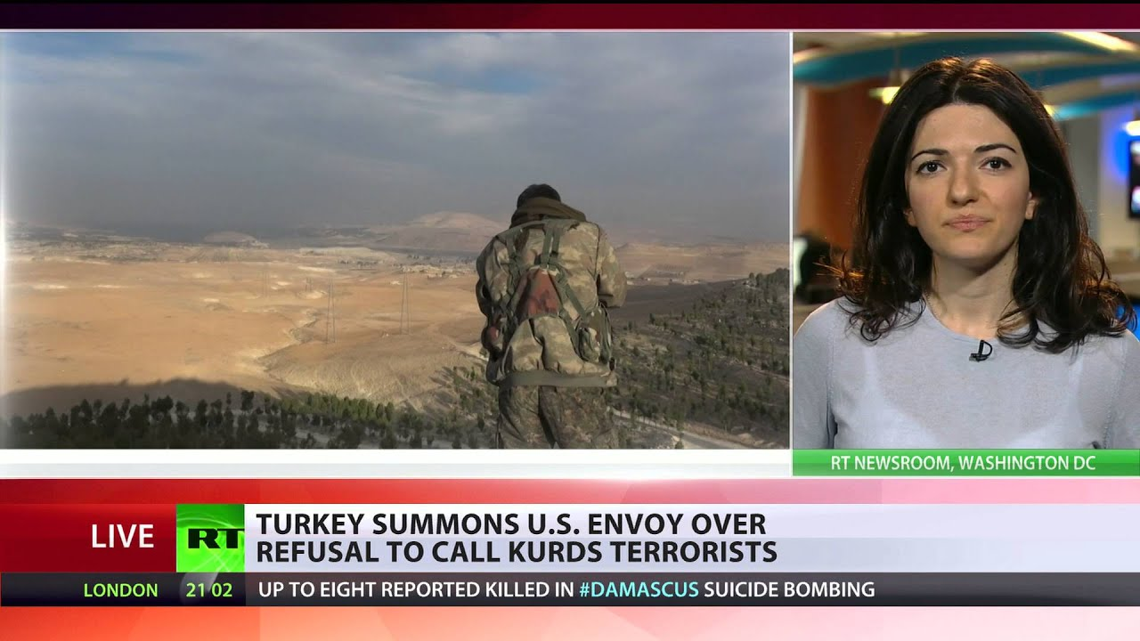 Cracks in coalition: Turkey summons the U.S. envoy over America's refusal to call Kurds terrorists
