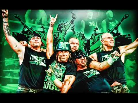 WWE New Age Outlaws 1st theme song Oh You Didnt Know ? ( Arene...