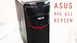 ASUS ROG G11 review w/ unboxing [BENCHMARKS, GAMEPLAY, FPS]