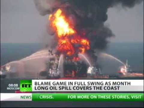 Corporations fight over oil leak as spill continues