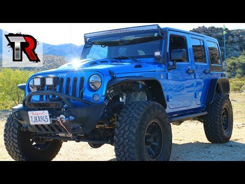 Modified 2015 Jeep Wrangler Review - Rig Walk Around Ep. 5