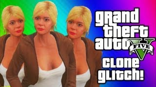 GTA 5 Clone Glitch - Get Out of My House! (GTA 5 Funny Moments, Glitches, Game Fail, Gameplay)