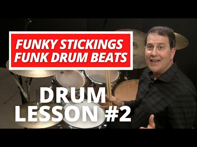 """Funky Sticking Part 2"" - FUNK DRUM LESSON with John X"