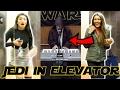 JEDI PLAYS PIANO IN ELEVATOR - STAR WARS PRANK (Public Reactions)