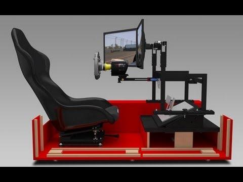 Anatomy Of A Driving Simulator YouTube