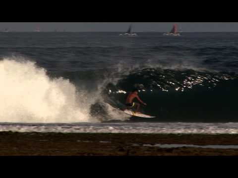 Bali Surfers Score In Lombok video