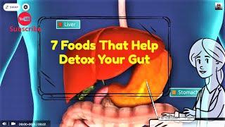 7 Foods That Help Detox Your Gut