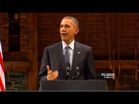 President Obama shows his stand up comedy ability as he completely wrecks Republicans.
