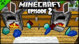 Minecraft Shields The Best Thing Ever?! | Python's World (Minecraft Survival Let's Play) | Episode 2