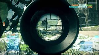 Battlefield 3 Beta Gameplay on nVidia GeForce 410M