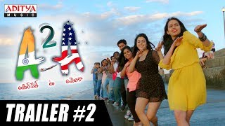 A2A (Ameerpet 2 America) Trailer #2 | A2A Telugu Movie | Rammohan Komanduri | Karthik Kodakandla
