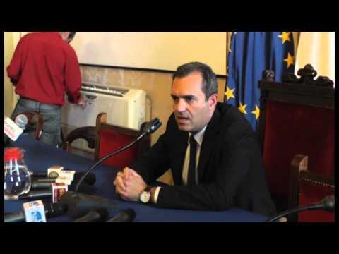 Napoli - Morte di Ciro Esposito, lutto cittadino, conf. De Magistris -live- (25.06.14)