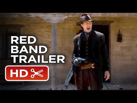 A Million Ways To Die In The West Official Red Band Trailer #1 (2014) - Seth MacFarlane Movie HD