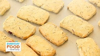 Almond-Orange Shortbread - Everyday Food with Sarah Carey
