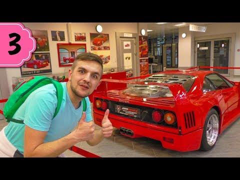 Ferrari F40 / Музей Автоспорта  / Много крутых тачек / Манекен Челлендж / Бюджетный отдых СОЧИ