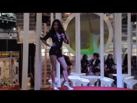 Bangkok Motor Show Girls, March 2011. Movie by Paul Hutton, Bangkok Scene.