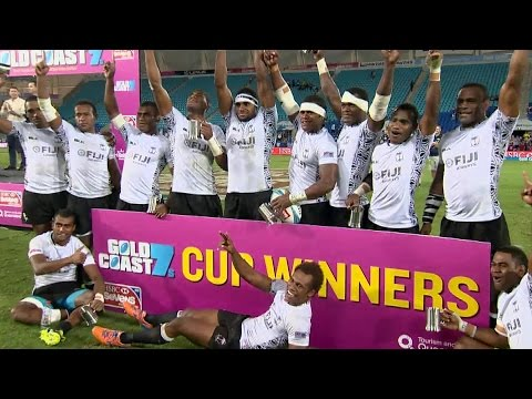 Fiji win Gold Coast Sevens after epic final with Samoa | HIGHLIGHTS
