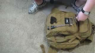 Part 1 Emergency Get Home Bag BOB SHTF Bag & Contents