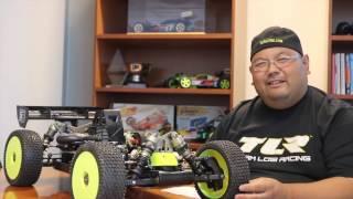 Team Losi Racing RC Buggy TLR 5IVE-B 1:5 4WD Benziner Race Kit