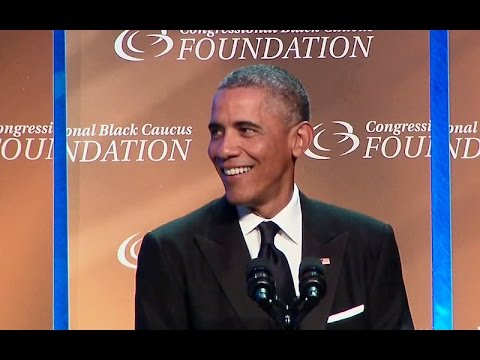 The President Addresses the Congressional Black Caucus