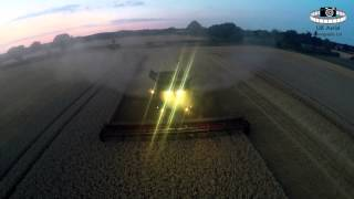 Suffolk Wheat Harvest 2015 - Case Axial Flow