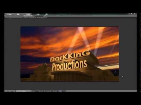 20th Century Fox Intro Mit Eigenen Schriften Erstellen - Blender 2.66a [german] video