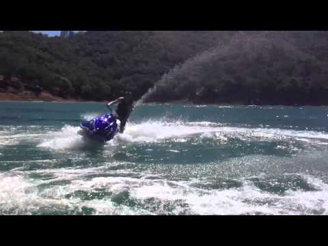 Jet Skiing at Lake Berryessa in Napa, CA