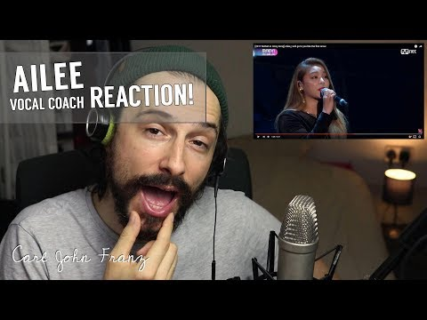 Vocal Coach REACTION, Ailee - I Will Go To You Like The First Snow LIVE!