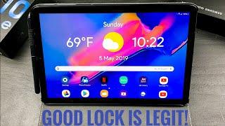 Good Lock 2019 on Samsung Galaxy Tab S4!