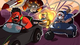 GTA 5   TINY RACERS & BIG SPLOSIONS'! (w/ H2O Delirious, Bryce, & Ohmwrecker)
