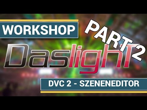 Tutorial DMX Software Daslight Teil 2 Der Szeneneditor (1/2)