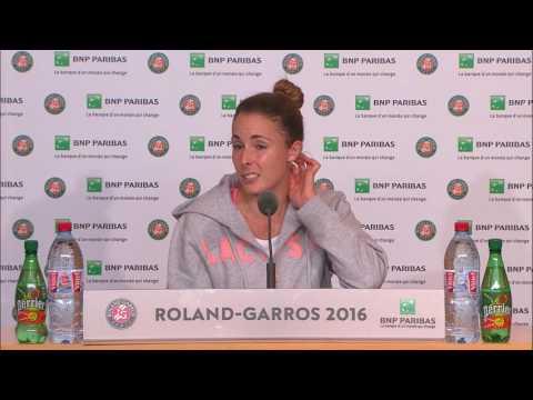 Alize Cornet Roland Garros: Post Match Interview