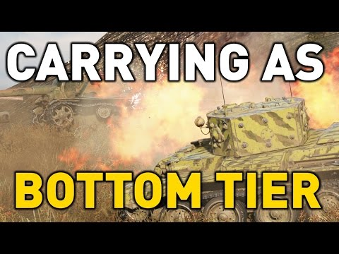 World of Tanks || Carrying as Bottom Tier