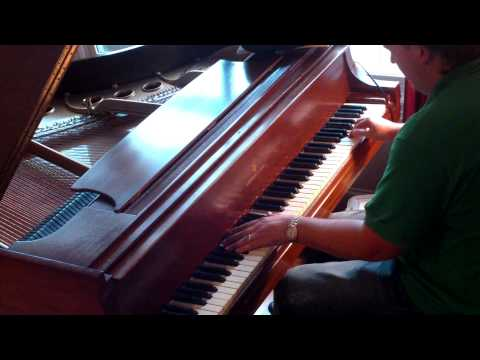 Marshall Harrison plays Frederic Freakin Chopin's Winter Wind Etude 11 op 25