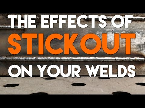 MIG Welding Parameters Test: Part 1 - Stickout   MIG Monday