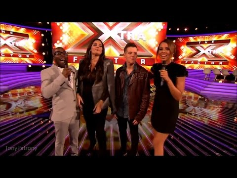 The Xtra Factor UK 2015 Live Shows Week 3 Eliminated Contestants Post Show Interview Full
