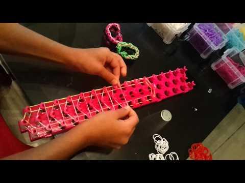 Как сделать тройной браслет из резинок со станком - Synergy-west.ru