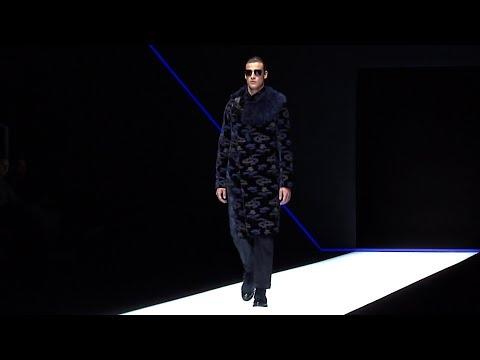 Emporio Armani Men's Fall Winter 2018 - 19 Fashion Show