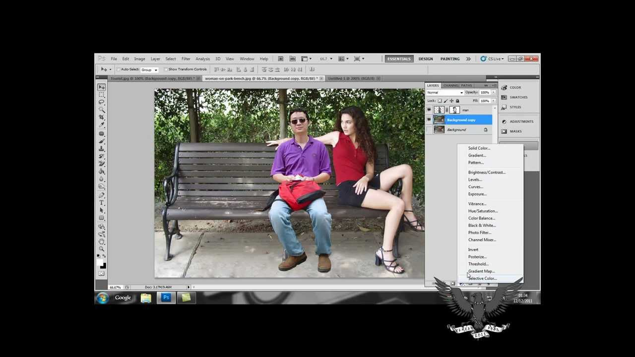 how to add a person into a photo adobe photoshop