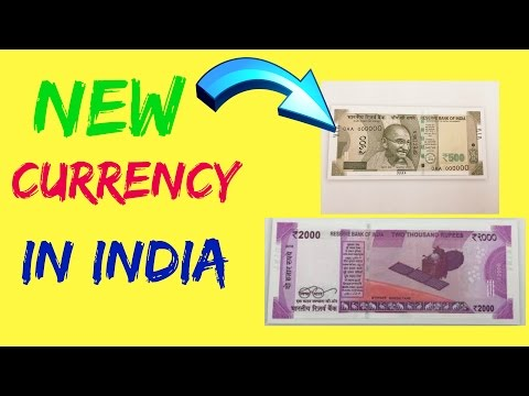 New Indian Currency Ps 500 And 2000 Notes Available In India (Technology Sagar)