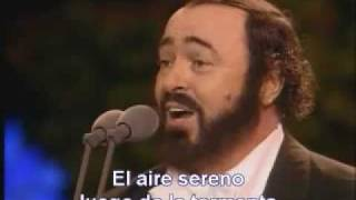 Pavarotti O Sole Mio Sub Español