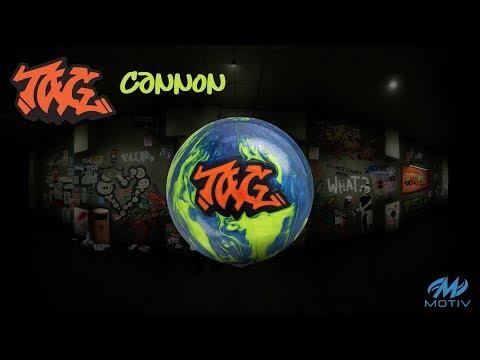 Motiv Tag Cannon bowling ball review by Average Joe Reviews