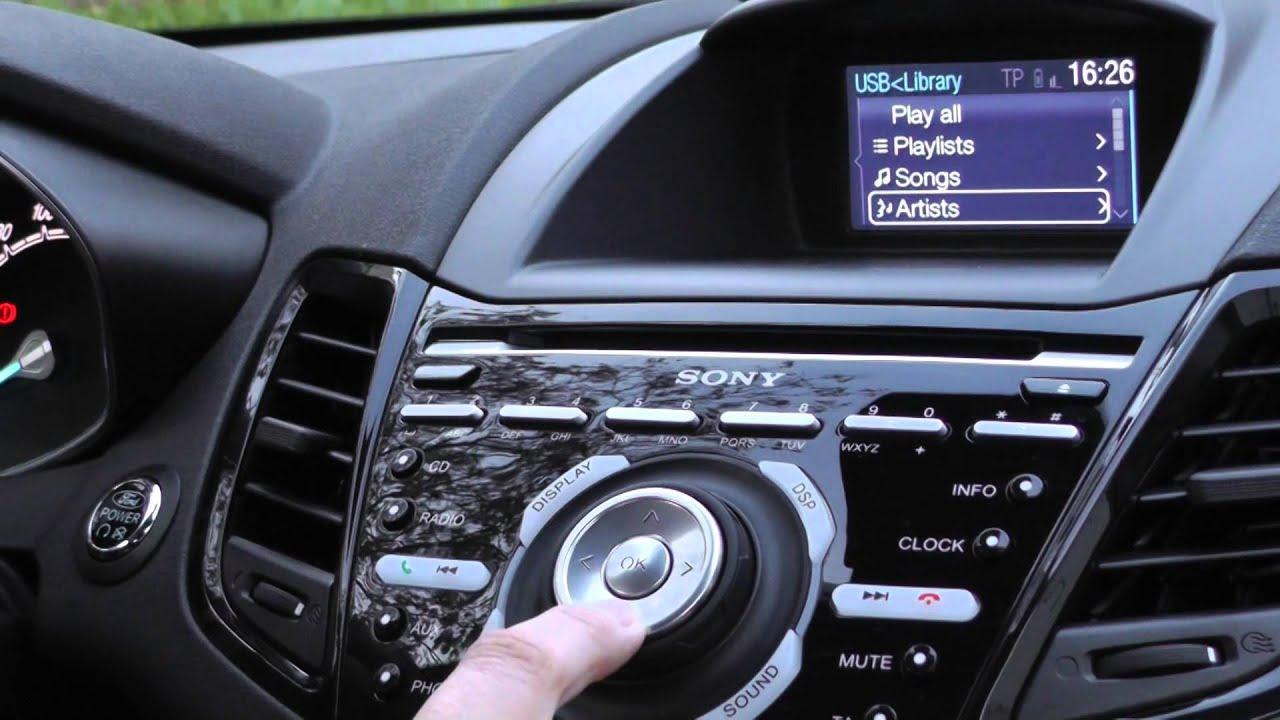 Ford fiesta 2013 prime impressioni infotainment da for 500x hdmotori